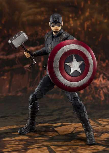Avengers: Endgame S.H. Figuarts Captain America (Final Battle) 15 cm Actionfigur