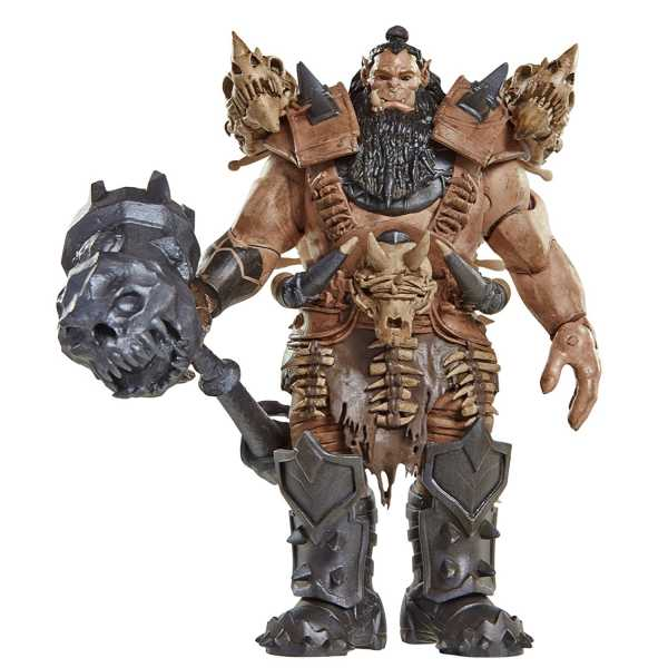 WARCRAFT MOVIE 15 cm BLACKHAND ACTIONFIGUR