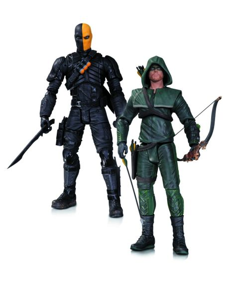 ARROW TV OLIVER QUEEN DEATHSTROKE ACTIONFIGUR 2- PACK