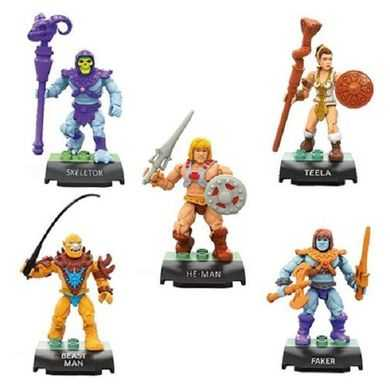 MEGA CONSTRUX MOTU BATTLE FOR ETERNIA COLLECTOR'S EDITION FIGUREN 5-PACK