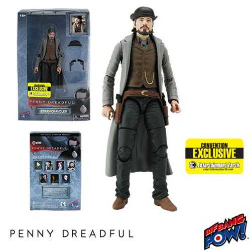 PENNY DREADFUL ETHAN CHANDLER 15 cm ACTIONFIGUR CONVENTION EXCLUSIVE