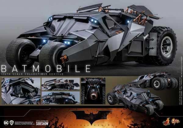 AUF ANFRAGE ! The Dark Knight Trilogie Movie Masterpiece 1/6 Batmobile 73 cm Fahrzeug