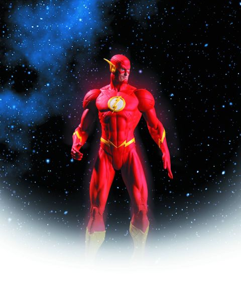 JUSTICE LEAGUE THE NEW 52 FLASH ACTIONFIGUR
