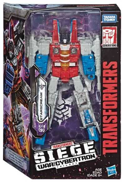 TRANSFORMERS GENERATIONS WAR FOR CYBERTRON: SIEGE VOYAGER STARSCREAM ACTIONFIGUR