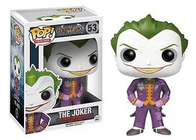 POP BATMAN ARKHAM ASYLUM THE JOKER defekte Verpackung