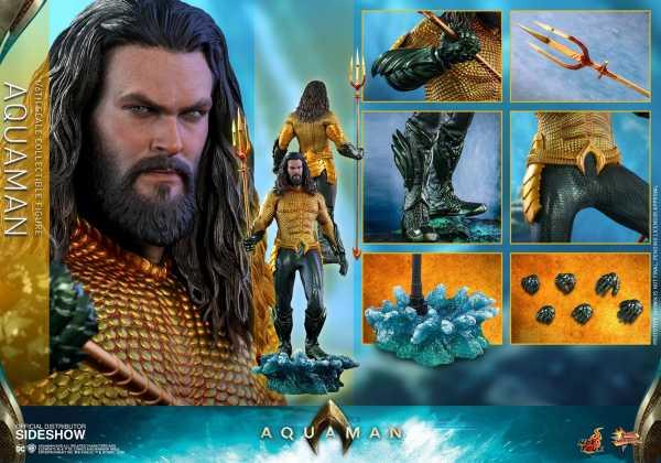 Aquaman Movie Masterpiece 1/6 Aquaman 33 cm Actionfigur