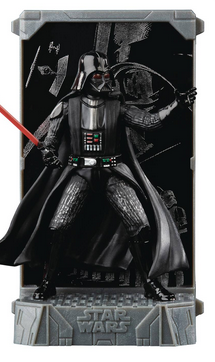 STAR WARS BLACK SERIES DIE-CAST TITANIUM DARTH VADER FIGUR