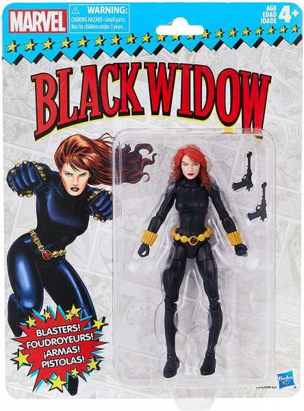 MARVEL SUPER HEROES VINTAGE 15 cm BLACK WIDOW ACTIONFIGUR