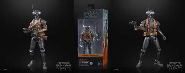 VORBESTELLUNG ! Star Wars The Black Series Q-90 Droid Zero Actionfigur