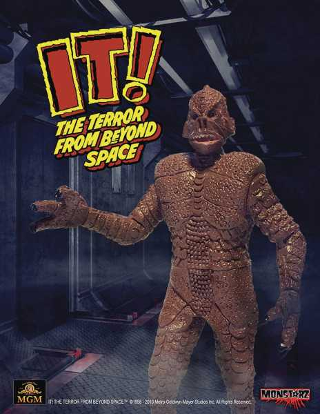 IT TERROR FROM BEYOND SPACE RED 10 cm RETRO ACTIONFIGUR