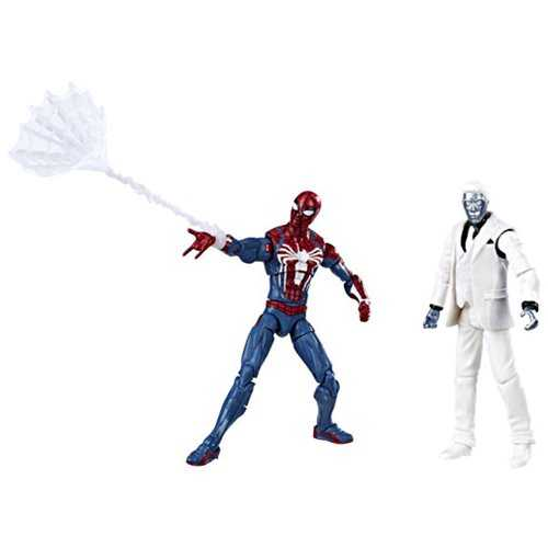 MARVEL GAMERVERSE 10 cm SPIDER-MAN VS MISTER NEGATIVE ACTIONFIGUR 2-PACK