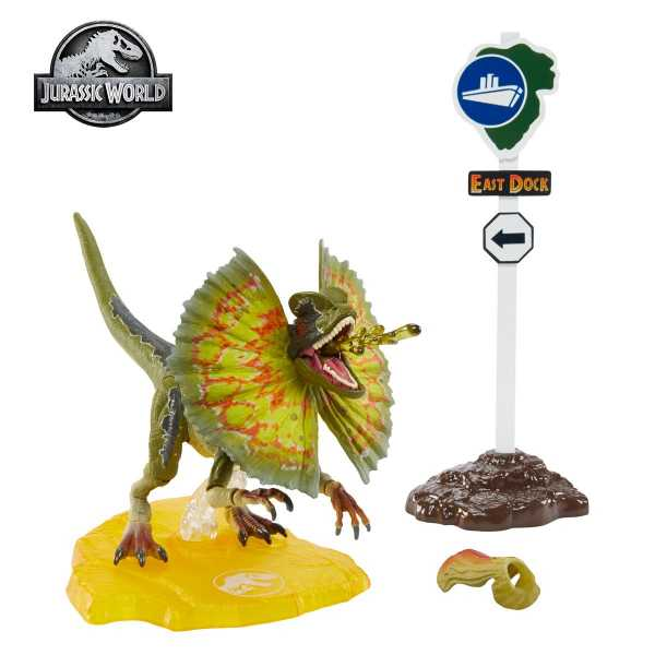 Jurassic Park Dilophosaurus 6-Inch Scale Amber Collection Actionfigur