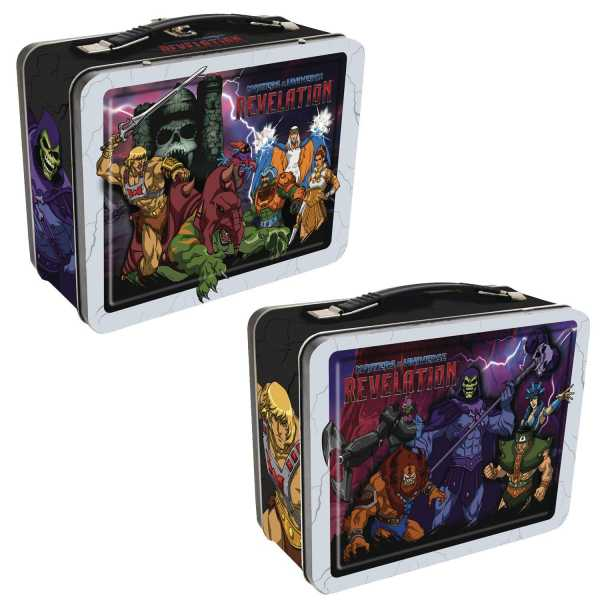 VORBESTELLUNG ! MASTERS OF THE UNIVERSE REVELATION TIN TOTE