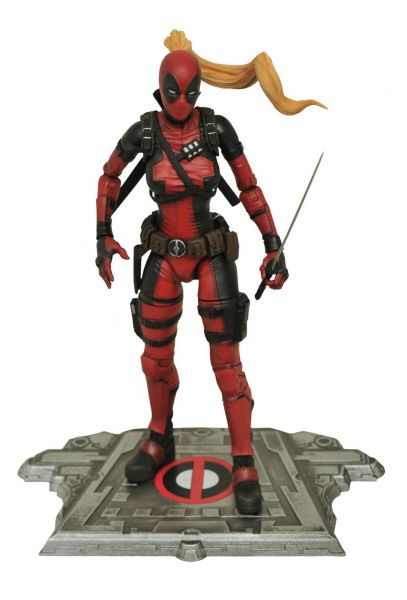 MARVEL SELECT LADY DEADPOOL ACTIONFIGUR