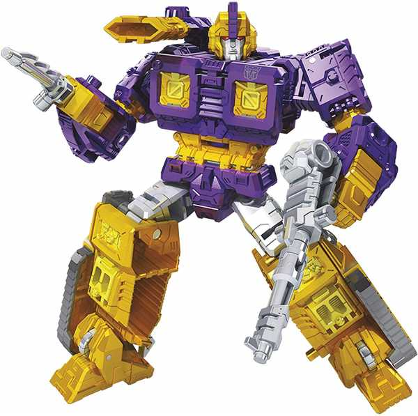 TRANSFORMERS GENERATIONS WAR FOR CYBERTRON: SIEGE DELUXE IMPACTOR ACTIONFIGUR