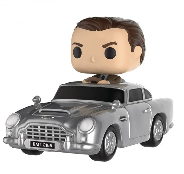 POP RIDES JAMES BOND WITH ASTON MARTIN VINYL FIGUR