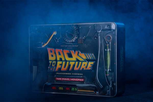 VORBESTELLUNG ! BACK TO THE FUTURE TIME TRAVEL MEMORIES KIT