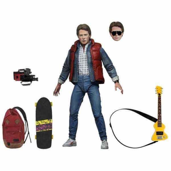 VORBESTELLUNG ! Zurück in die Zukunft Ultimate Marty McFly 18 cm Actionfigur