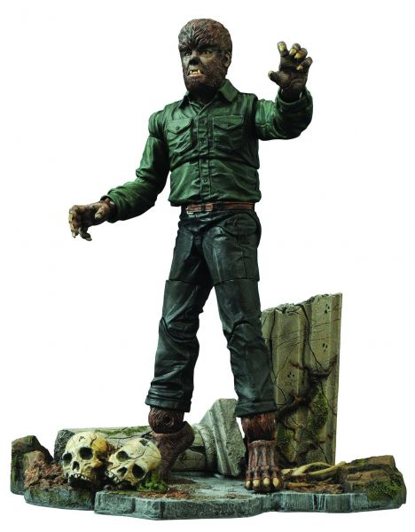 UNIVERSAL MONSTERS DIAMOND SELECTWOLFMAN VER 2 ACTIONFIGUR