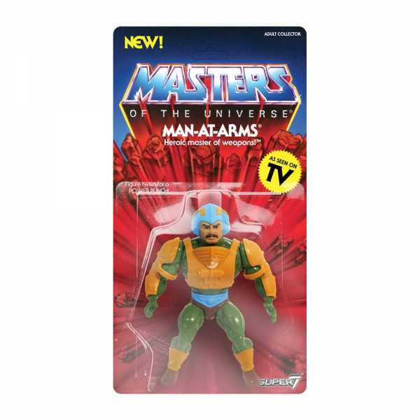 MASTERS OF THE UNIVERSE VINTAGE WAVE 2 MAN-AT-ARMS