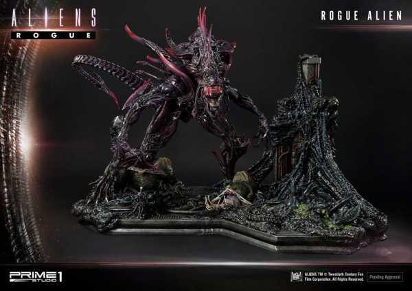 VORBESTELLUNG ! Aliens Premium Masterline Series Rogue Alien Battle Diorama 66 cm Statue