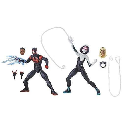 MARVEL LEGENDS SPIDER-MAN: INTO THE SPIDER-VERSE ACTIONFIGUR 2-PACK