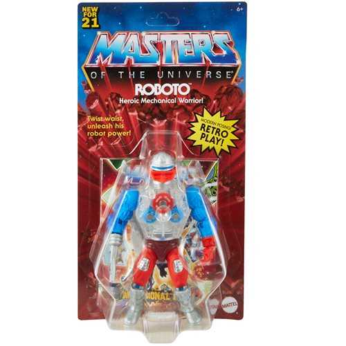 VORBESTELLUNG ! Masters of the Universe Origins Roboto Actionfigur US Version