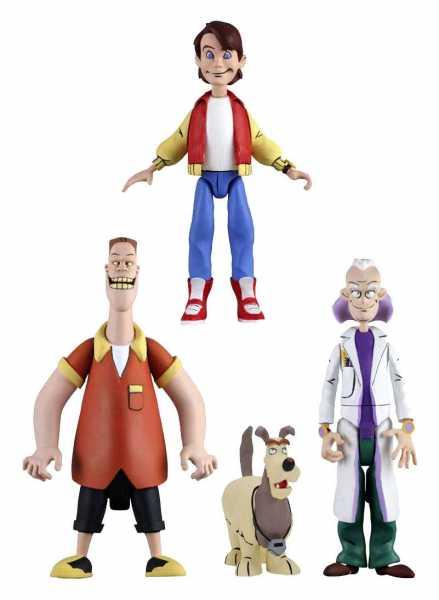 Zurück in die Zukunft Toony Classics Series 1 Actionfiguren Set