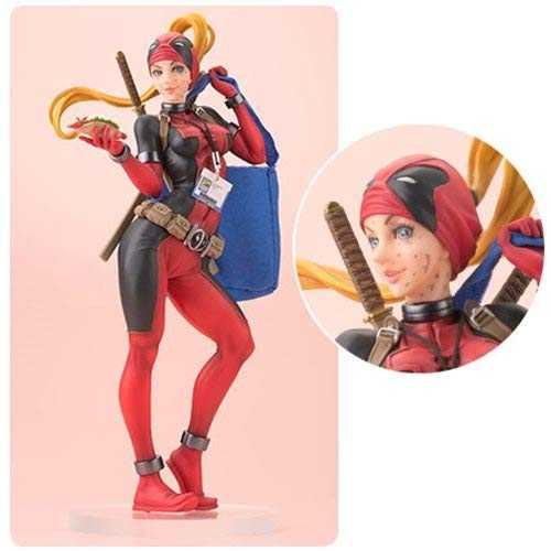 MARVEL LADY DEADPOOL BISHOUJO VARIANT STATUE 2016 SDCC EXCLUSIVE