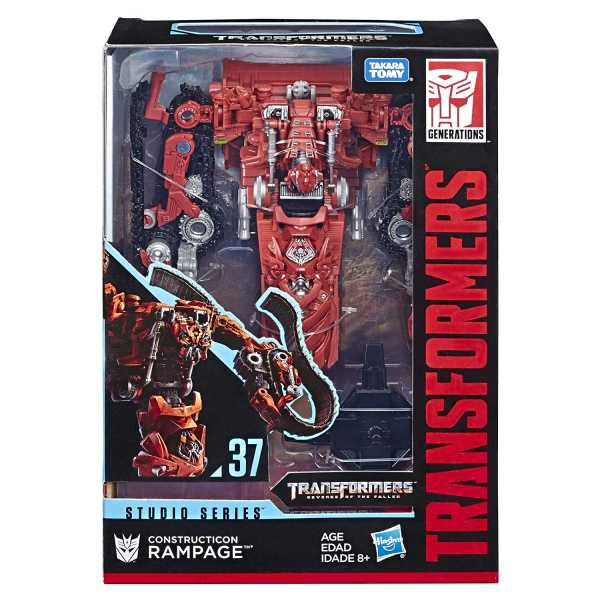 TRANSFORMERS GENERATIONS STUDIO SERIES VOYAGER CLASS RAMPAGE ACTIONFIGUR
