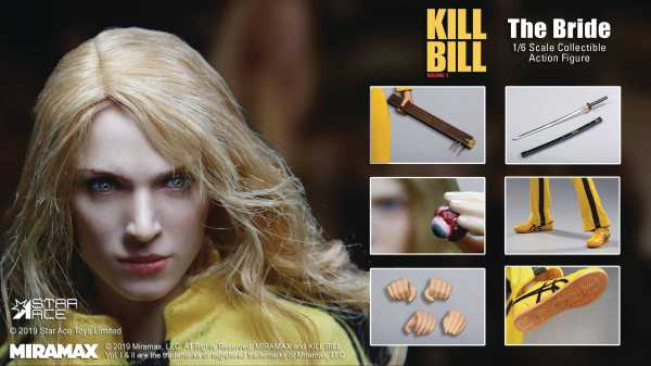 VORBESTELLUNG ! KILL BILL VOLUME 1 THE BRIDE 1/6 ACTIONFIGUR