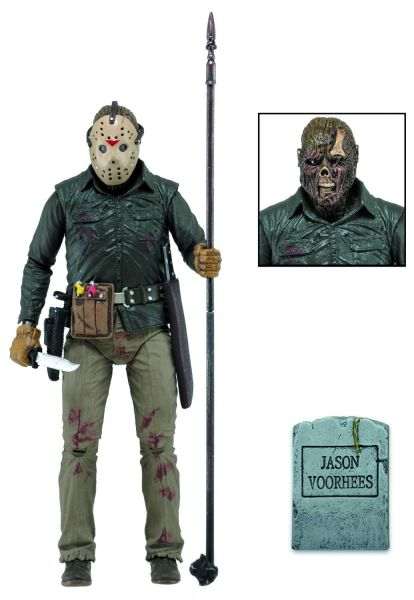 FRIDAY THE 13TH PART 6 JASON 17,5 cm ULTIMATE ACTIONFIGUR