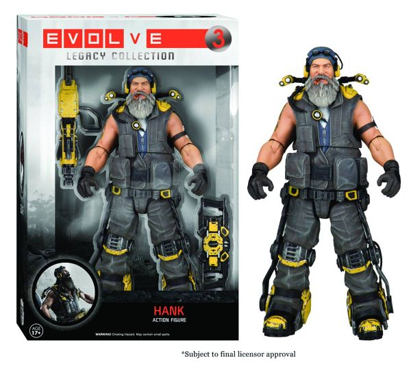 LEGACY EVOLVE HANK ACTIONFIGUR