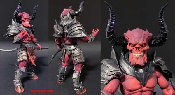 VORBESTELLUNG ! Mythic Legions: Arethyr Belphegorr 15 cm Actionfigur