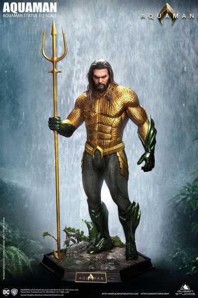 VORBESTELLUNG ! Aquaman 1/2 Aquaman 99 cm Statue