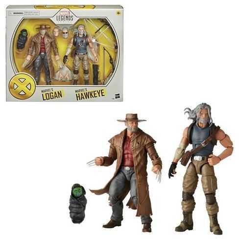 VORBESTELLUNG ! X-Men Marvel Legends Hawkeye and Logan 15cm 2-Pack Actionfiguren
