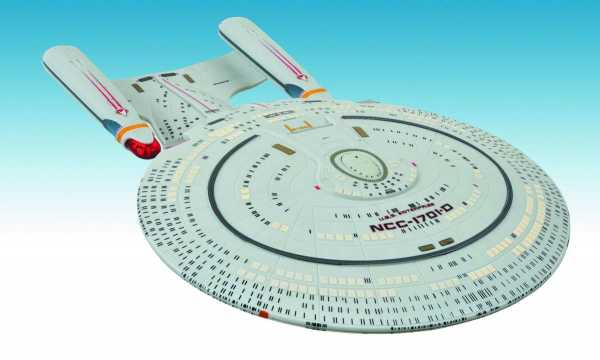 STAR TREK ENTERPRISE D SHIP 40CM RAUMSCHIFF MIT LICHT & SOUND