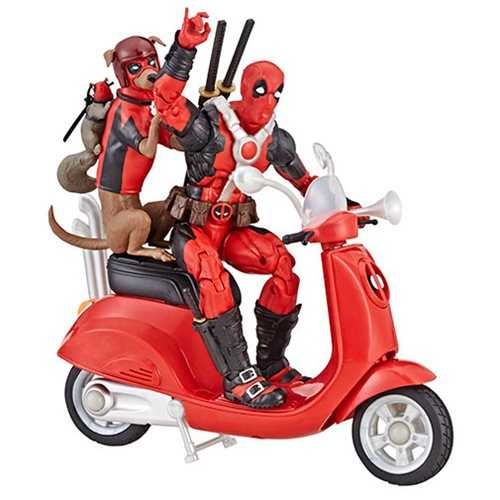 MARVEL LEGENDS ULTIMATE DEADPOOL MIT SCOOTER