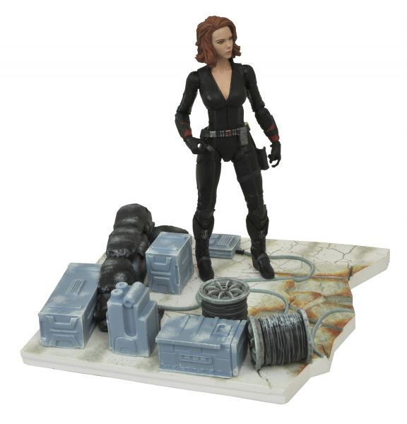MARVEL SELECT AVENGERS 2 BLACK WIDOW ACTIONFIGUR