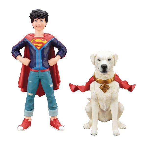 DC COMICS SUPERSONS JONATHAN KENT & KRYPTO ARTFX+ STATUE 2-PACK