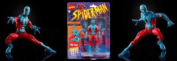 VORBESTELLUNG ! Spider-Man Marvel Legends Series 6-Inch Web-Man Exclusive Actionfigur