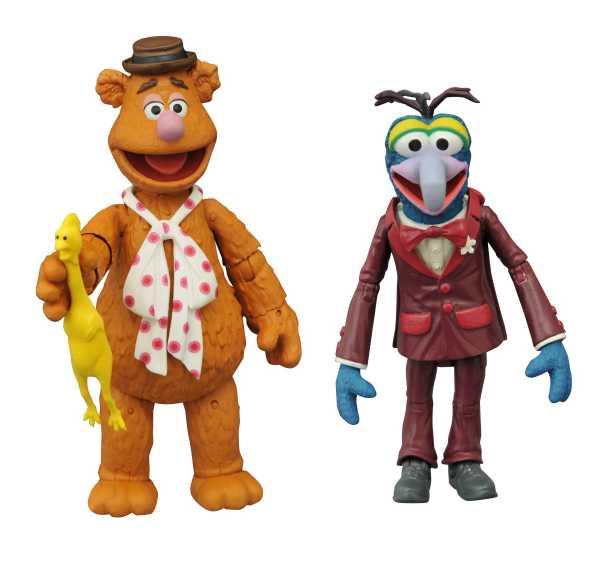 Muppets Best Of Series 1 Gonzo & Fozzie Actionfiguren 2-Pack