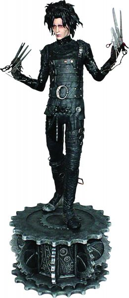 EDWARD SCISSORHANDS 1/4 SCALE STATUE