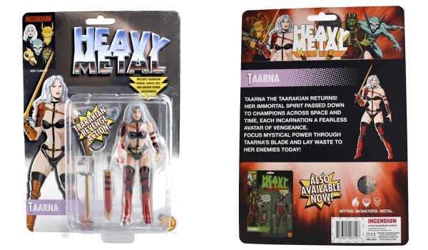 Heavy Metal Movie Taarna VHS Tribute 5-Inch FigBiz Actionfigur