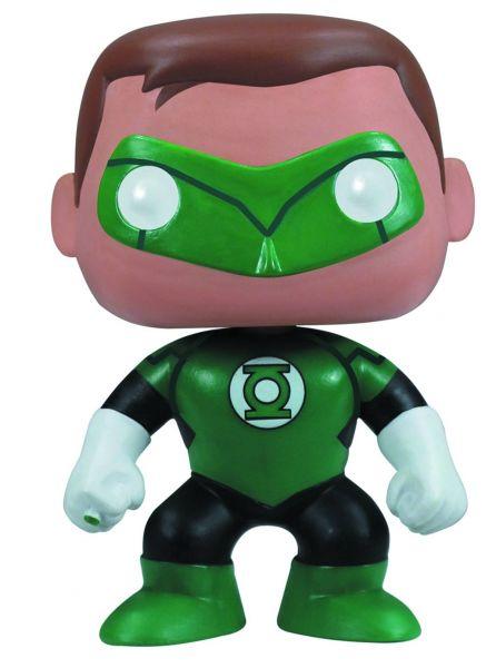 POP HEROES GREEN LANTERN PX VINYL FIGUR defekte Verpackung