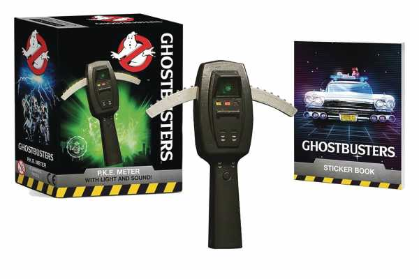GHOSTBUSTERS PKE METER WITH MINI BOOK