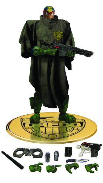 ONE-12 COLLECTIVE JUDGE DREDD CURSED EARTH PX ACTIONFIGUR