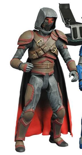 GOTHAM SELECT SERIES 4 AZRAEL ACTIONFIGUR