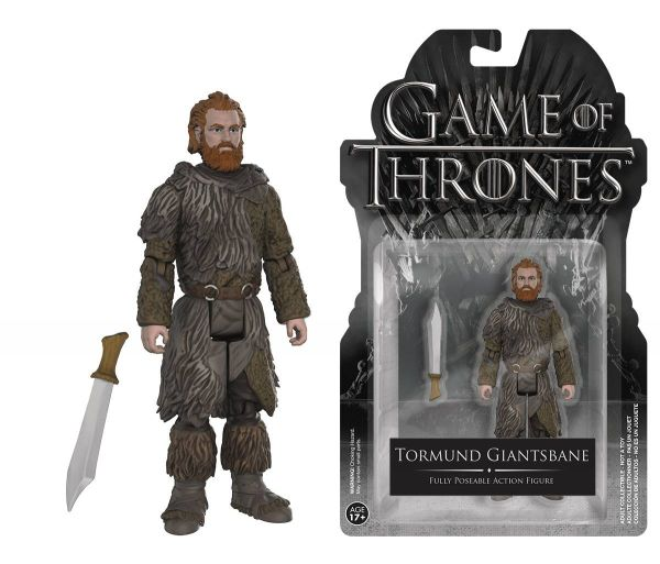 GAME OF THRONES TORMUND GIANTSBANE 10cm ACTIONFIGUR