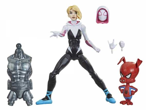 VORBESTELLUNG ! Spider-Man Marvel Legends Spider-Gwen and Peter Porker 6 Inch Actionfiguren 2-Pack